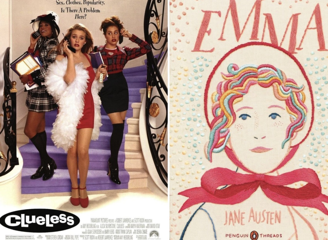 a movie analysis of clueless in comparison with jane austens novel If i loved the novel less, maybe i'd be able to talk about this film more  have  you seen my proposal scene comparison on youtube you'll.